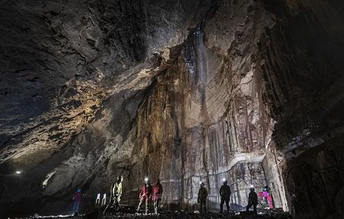 探险者天堂!英国最复杂洞穴系统将再对外开放